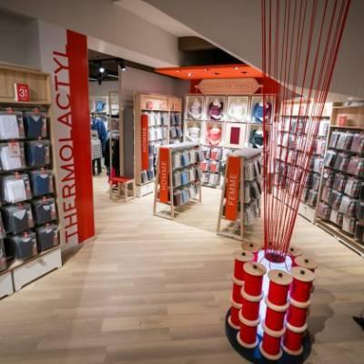 Damart inaugura il nuovo flagship store a Lille