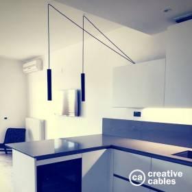 Be Creative #1: sospensione doppia sul bancone di una cucina