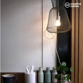 Be Creative #4: una lampada ricavata da una nassa da pesca