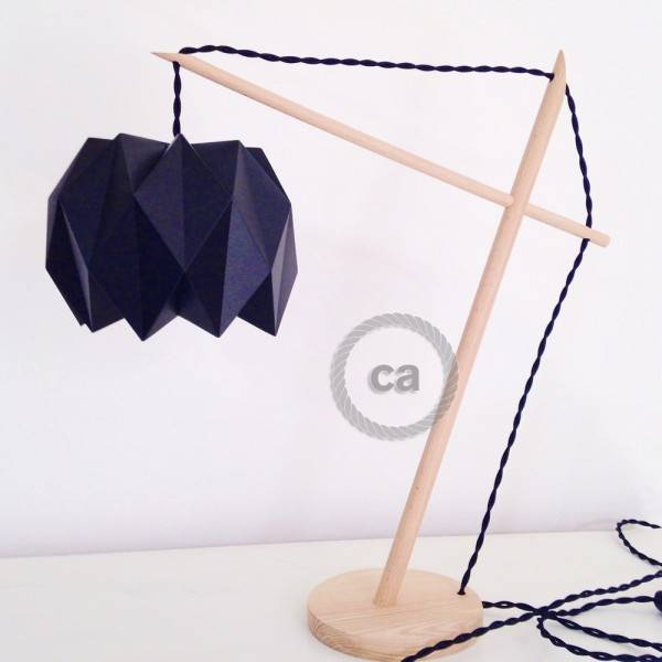 pascal cuello lampada origami creative cables blog italia. Black Bedroom Furniture Sets. Home Design Ideas