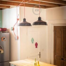 Pascal Flamant: carrucola per l'illuminazione della cucina